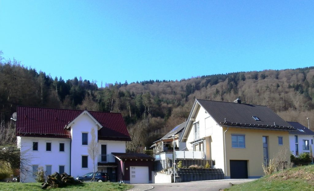 Einfamilienhäuser in Rockenau